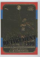 Michael Jordan 1986-87 (Color Border, Retirement Overstrike) /9923