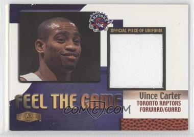 1999-00 Flair Showcase Feel The Game #VICA - Vince Carter