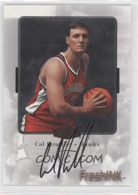 1999-00 Flair Showcase Fresh Ink #N/A - Cal Bowdler
