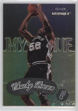 1999-00 Fleer Mystique #9 - Chucky Brown