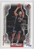 Mike Bibby (98-99 SP Auth NBA 2K) /42