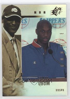 1999-00 SPx - [Base] #94 - Lamar Odom /3500