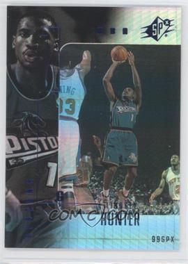 1999-00 SPx Radiance #22 - Lindsey Hunter /100