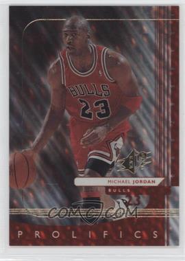 1999-00 SPx SPx Prolifics #P1 - Michael Jordan