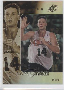 1999-00 SPx #107 - Cal Bowdler /3500