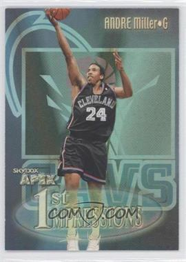1999-00 Skybox Apex - 1st Impressions #16FI - Andre Miller
