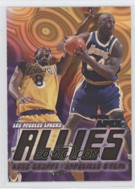 1999-00 Skybox Apex - Allies #1A - Kobe Bryant, Shaquille O'Neal