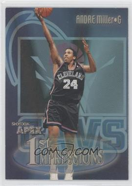 1999-00 Skybox Apex 1st Impressions #16FI - Andre Miller