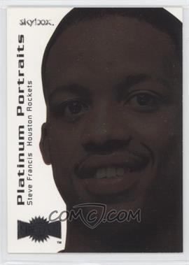 1999-00 Skybox Metal Platinum Portraits #3 OF 15 PP - Steve Francis