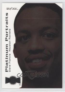 1999-00 Skybox Metal Platinum Portraits #3 PP - Steve Francis