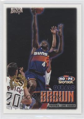1999-00 Skybox NBA Hoops - [Base] #143 - Gerald Brown