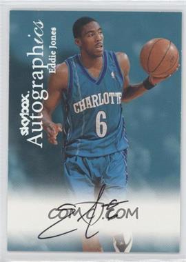 1999-00 Skybox Premium Autographics [Autographed] #EDJO - Eddie Jones