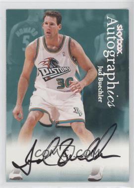 1999-00 Skybox Premium Autographics [Autographed] #JUBU - Jud Buechler
