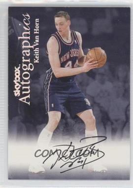 1999-00 Skybox Premium Autographics [Autographed] #KEVH - Keith Van Horn