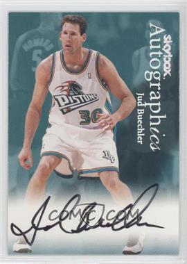 1999-00 Skybox Premium Autographics #JUBU - Jud Buechler