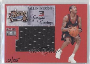 1999-00 Skybox Premium Genuine Coverage Jerseys #5GC - Allen Iverson /275