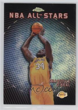 1999-00 Topps Chrome - NBA All-Stars - Refractor #AS7 - Shaquille O'Neal