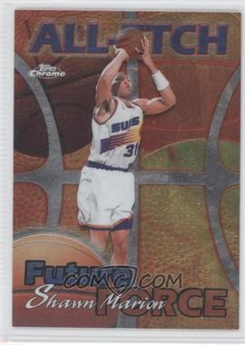 1999-00 Topps Chrome All-Etch #AE29 - Shawn Marion