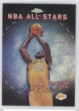 1999-00 Topps Chrome NBA All-Stars Refractor #AS7 - Shaquille O'Neal