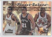 Allen Iverson, Tim Duncan, Vince Carter (Refractor)