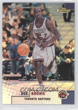 1999-00 Topps Finest Refractor #89 - Dee Brown