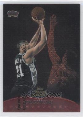 1999-00 Topps Finest Team Finest Red #TF7 - Tim Duncan /500
