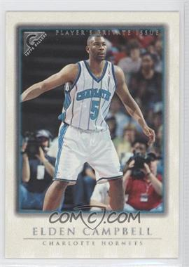 1999-00 Topps Gallery - [Base] - Player's Private Issue #88 - Elden Campbell /250