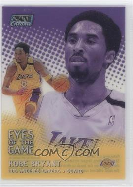 1999-00 Topps Stadium Club Chrome Eyes of the Game Refractor #EG6 - Kobe Bryant