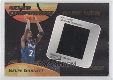 1999-00 Topps Stadium Club Never Compromise Game View #NCG11 - Kevin Garnett /100