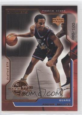 1999-00 Upper Deck - [Base] - UD Exclusives #163 - Andre Miller /100