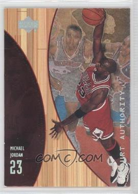 1999-00 Upper Deck Hardcourt Court Authority #A10 - Michael Jordan