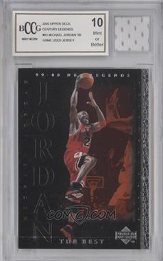 1999-00 Upper Deck NBA Legends - [Base] #83 - Michael Jordan [ENCASED]