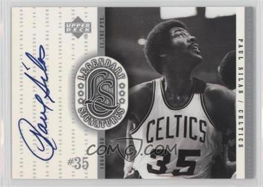 1999-00 Upper Deck NBA Legends - Legendary Signatures #PS - Paul Silas