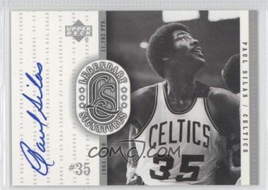 1999-00 Upper Deck NBA Legends Legendary Signatures #PS - Paul Silas