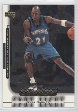 1999-00 Upper Deck Ovation Spotlight #OS1 - Kevin Garnett