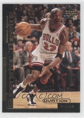 1999-00 Upper Deck Ovation Superstar Theatre #ST1 - Michael Jordan