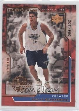 1999-00 Upper Deck UD Exclusives #161 - Wally Szczerbiak /100