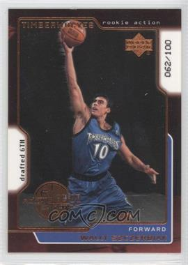 1999-00 Upper Deck UD Exclusives #321 - Wally Szczerbiak /100
