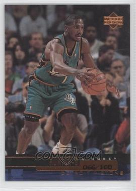 1999-00 Upper Deck UD Exclusives #36 - Lindsey Hunter /100