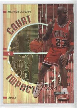 1999-00 Upper Deck Ultimate Victory Court Impact #C1 - Michael Jordan