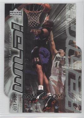 1999-00 Upper Deck Wild! Level 1 #W7 - Vince Carter /100