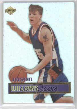 1999 Collector's Edge Rookie Rage Authentic Gameball #5 - Jason Williams