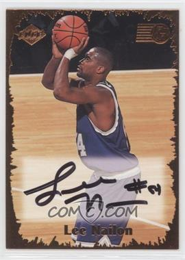 1999 Collector's Edge Rookie Rage Pro Signatures #RR-34 - Lee Nailon