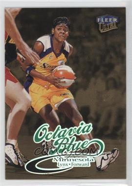 1999 Fleer Ultra WNBA - [Base] - Gold Medallion Edition #16G - Octavia Blue