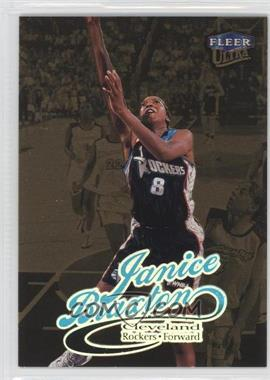 1999 Fleer Ultra WNBA - [Base] - Gold Medallion Edition #43G - Janice Braxton