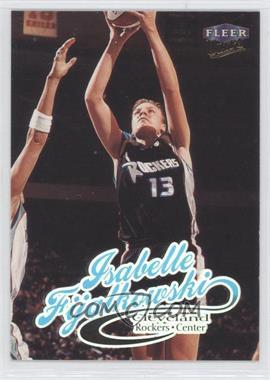 1999 Fleer Ultra WNBA - [Base] #27 - Isabelle Fijalkowski
