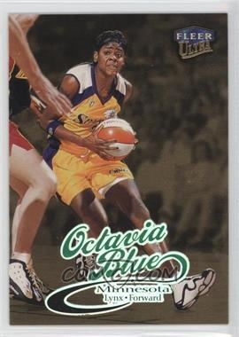 1999 Fleer Ultra WNBA Gold Medallion Edition #16G - Octavia Blue