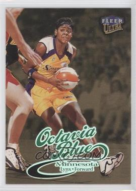 1999 Fleer Ultra WNBA Gold Medallion Edition #16G - Octavia Blue