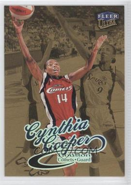 1999 Fleer Ultra WNBA Gold Medallion Edition #82G - Cynthia Cooper