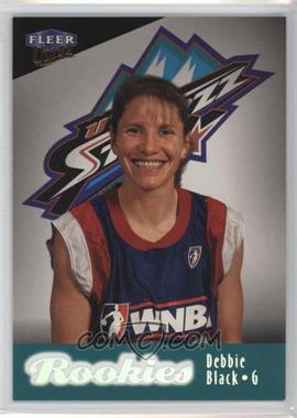 1999 Fleer Ultra WNBA #111 - Debbie Black